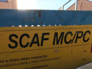 PIATTAFORMA ELEVABILE 1000kg SAFI- SCAF MC/PC