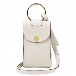Tuscany Leather TL141865 TL Bag - Tracollina Portacellulare in pelle Bianco
