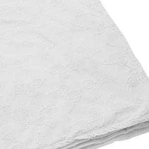 Copriletto in cotone matrimoniale 2 piazze TWINSET Papillons bianco