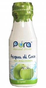 ACQUA DI COCCO - Senza Zucchero aggiunto - Confezione con 24 PET da 280 ml