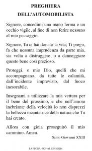 Pvc S. Antonio Abate con preghiera automobilista (100 pz)