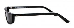 Balenciaga - Occhiale da Sole Donna, Matte Black/Grey Shaded  BA0135  01A  C58