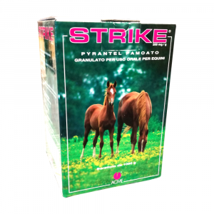 STRIKE 1000g granulato  - vermifugo per cavalli