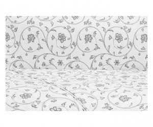 Set lenzuola matrimoniale 2 piazze ZUCCHI MERY puro cotone - grigio