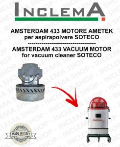 AMSTERDAM 433 MOTORE ASPIRAZIONE AMETEK per aspirapolvere SOTECO