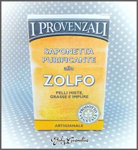 I Provenzali Saponetta Purificante allo Zolfo