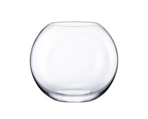 Vaso a sfera in vetro cm.17,2h diam.20