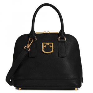 Hand and shoulder bag Furla FANTASTICA 1023629 NERO