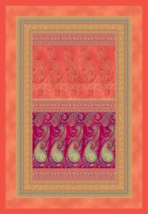 Bassetti Plaid Granfoulard 135x190 cm SCAURI var.1 regalo originale