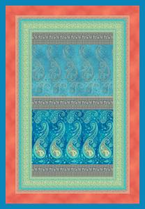 Bassetti Plaid Granfoulard 135x190 cm SCAURI v.3 originale turchese