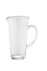 Brocca Diva in vetro con manico cm.22h diam.11,5