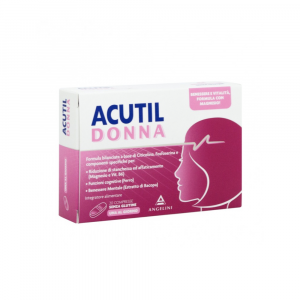 ACUTIL DONNA INTEGRATORE MULTIVITAMINICO 20 COMPRESSE