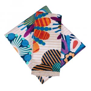 Asciugamani Missoni 1 asciugamano + 1 ospite NOEMI multicolore