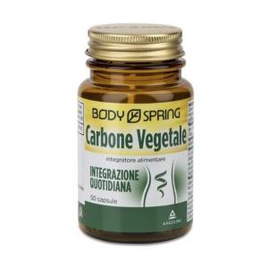 BODY SPRING CARBONE VEGETALE - UTILE PER CONTRASTARE IL GONFIORE INTESTINALE
