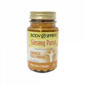 BODY SPRING GINSENG PANAX 50 CAPSULE