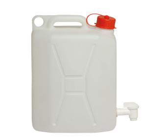 Tanica in plastica alimentare con rubinetto da lt.10 e lt.20