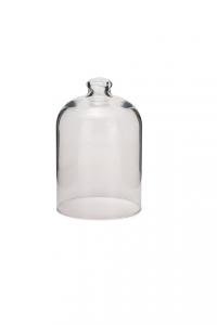 Campana Cloche in vetro alta per dolci cm.17h diam.11