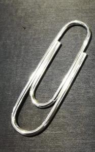 Graffetta Fermasoldi argento lucido 925% hand made