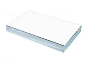 Fermacarte rettangolare in vetro cm.12x18x1,9h