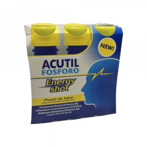 ACUTIL FOSFORO ENERGY SHOT -  BASE DI CAFFEINA PRONTO DA BERE
