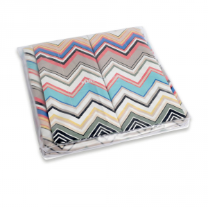 Missoni Home bedding set linens queen size WALTER chevron
