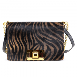 Shoulder bag Furla MIMI 1033506 TONI NATURALI+NERO