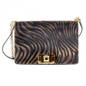 Shoulder bag Furla MIMI 1033480 TONI NATURALI+NERO