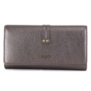Woman wallet Liu Jo LIBERA A69072 E0086 MORO LIGHT METAL