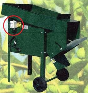 Defogliatore Elettrico con interruttore