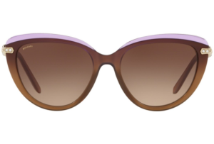 Bulgari - Occhiale da Sole Donna, Pink Brown/Brown Shaded  BV8211-5463/13 C55