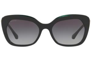 Bulgari - Occhiale da Sole Donna, Black-Green/Grey Shaded  BV8213-5417/8G  C55