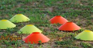 Conetti segnalatori rossi e gialli x40 pezzi