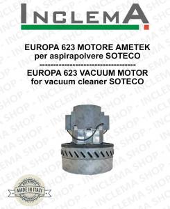 EUROPA 623 MOTORE ASPIRAZIONE AMETEK per aspirapolvere SOTECO