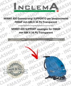 MINNY 420 Gomma tergi SUPPORTO per lavapavimenti FIMAP