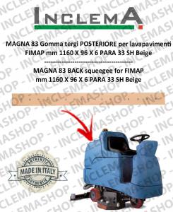 MAGNA 83 Gomma tergi POSTERIORE per lavapavimenti FIMAP
