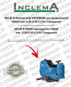 MG 85 B Gomma tergi ANTERIORE per lavapavimenti FIMAP