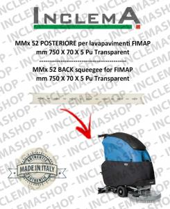 MMx 52 Gomma tergi POSTERIORE per lavapavimenti FIMAP (From s/n 211014837)