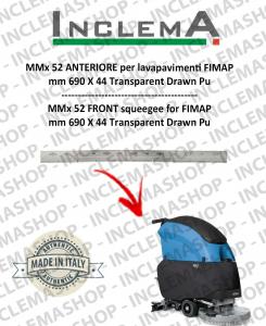 MMx 52 Gomma tergi ANTERIORE per lavapavimenti FIMAP (From s/n 211014837)