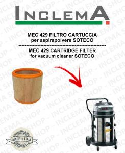MEC 429 FILTRO CARTUCCIA per aspirapolvere SOTECO