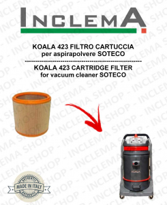 KOALA 423 FILTRO CARTUCCIA per aspirapolvere SOTECO