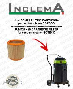 JUNIOR 429 FILTRO CARTUCCIA per aspirapolvere SOTECO