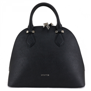 Hand and shoulder bag Cromia PERLA 1404318 NERO