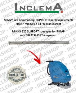 MINNY 520 Gomma tergi SUPPORTO per lavapavimenti FIMAP