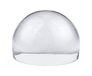 Fermacarte mezza sfera in vetro cm.6x6x4,5h