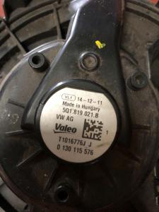 motorino vent. abitacolo usato V. Golf 2.0 TSI 2017>