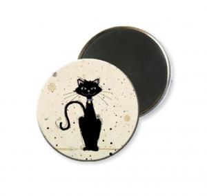 Magnete tondo con diverse fantasie di Gatti  (mch001)