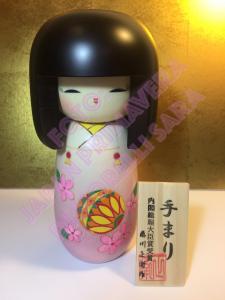 Bambola Kokeshi - Temari (L)