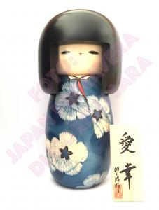 Bambola Kokeshi - Amore e Felicità (Aikou)