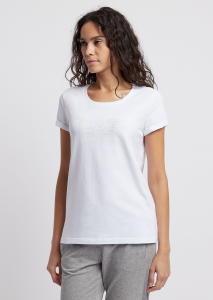 T-shirt donna ARMANI EA7 in jersey stretch