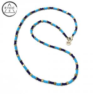 Dandy Street - Collana pietre Lapis Blu e Magnesite Turchese